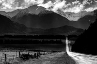 The road to Arthur's Pass